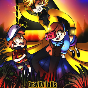 Default gravity falls comic cover by jack a lynn d8pi4cv