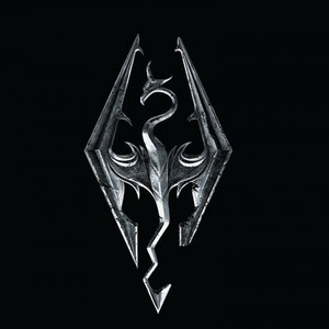 Default skyrim logo dragon