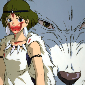 Default the great japanese epic from studio ghibli princess mononoke 1997 princess mononoke