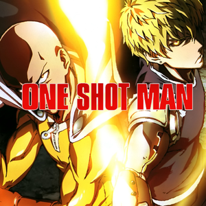 Default one shot man logo