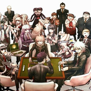 Default dangan ronpa 1 2 reload official art 2