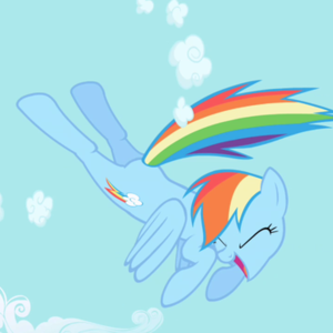 Default rainbow dash
