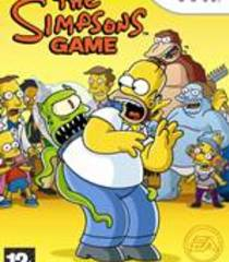 Default the simpsons game