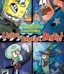 Default spongebob squarepants lights camera pants