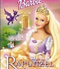 Default barbie as rapunzel
