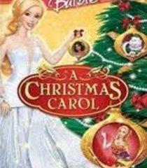 Default barbie in a christmas carol