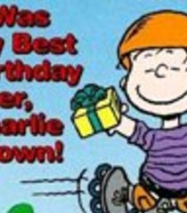 Default it was my best birthday ever charlie brown