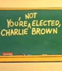 Default you re not elected charlie brown