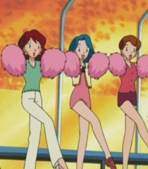Default gary oak s cheerleaders