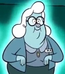 Default old woman ghost