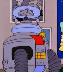 Default lost in space robot