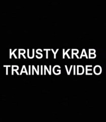 Default narrator krusty krab training video
