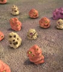 Default rock aliens