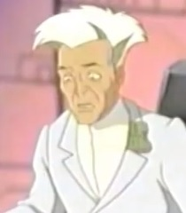 Default white haired scientist