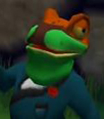 Default dennis the green tree frog