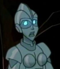 Default silver robot