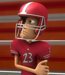 Default football player