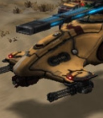 Default hammerhead gunships