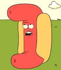 Default hotdog person