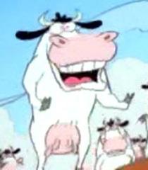 Default tv cow