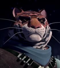 Default tiger claw