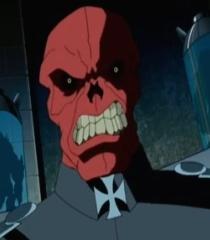 Default red skull