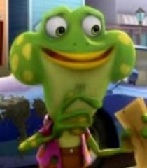Default chad frog