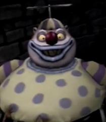 Default clown with the tear away face