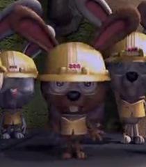 Default worker bunny
