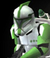 Default clone jet trooper