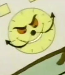 Default clock man