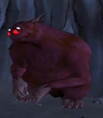 Default purple rat creature