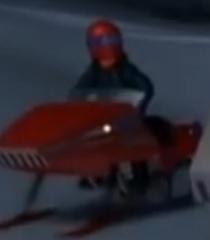 Default snow mobile rider 2