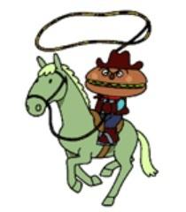 Default hamburger kid