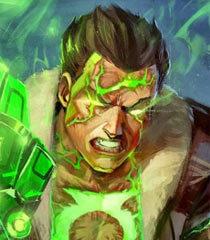 Default atomic green lantern