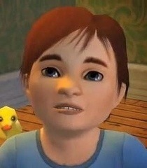 Default toddler sims
