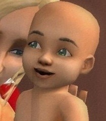 Default baby sims