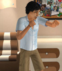 Default teenage sims male