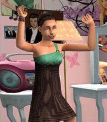 Default teenage sims female