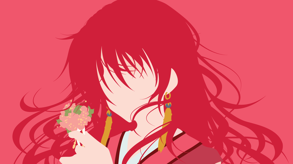 Princess yona from akatsuki no yona   minimalist by matsumayu d8h4jr9