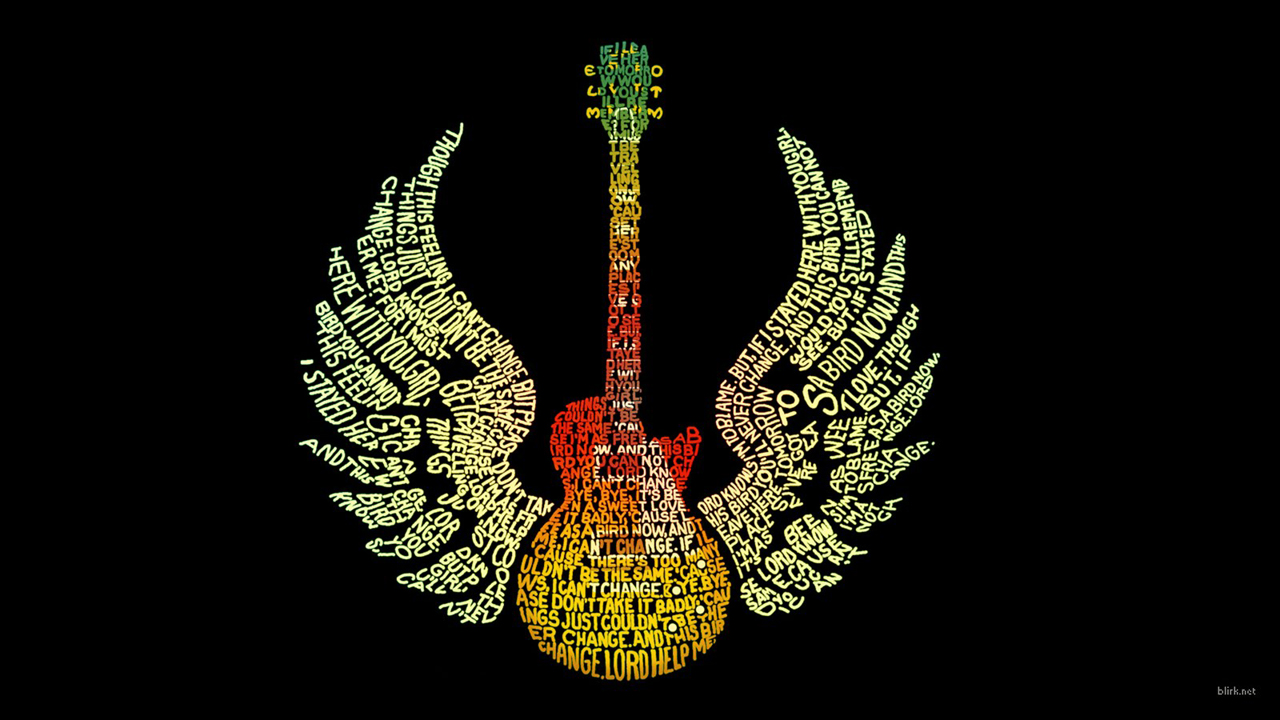 Awesome guitar wallpapers designs large 46