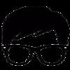 Thumb logo black