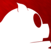 Thumb blood piggy white icon