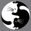 Thumb yin yang cats