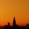 Thumb parliament hill at sunset