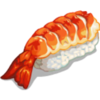 Thumb sushi shrimp icon