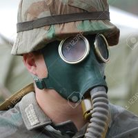 Default 3255643 german soldier in gas mask ww2 reenacting stock photo