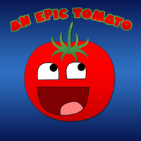 Default an epic tomato logo