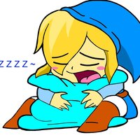 Default sleepy blue link by redfirestar