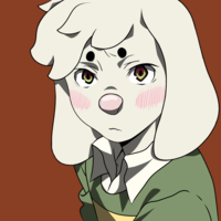 Default anime asriel